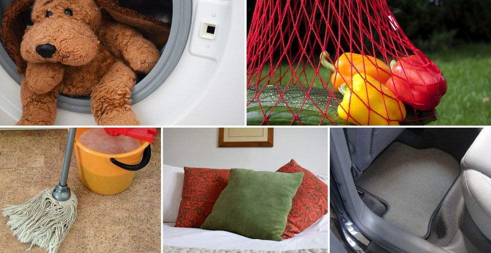 15 things you didn't know you could clean in the washing machine
