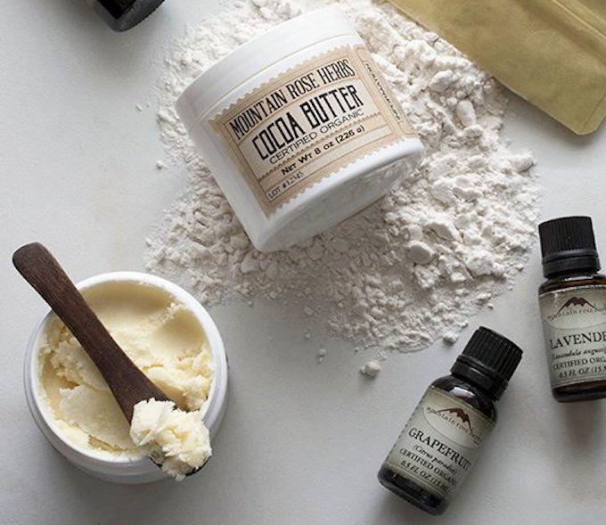 cocoa butter diy deodorant