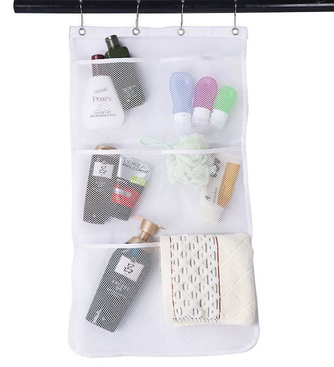 hanging storage bathroom organiser