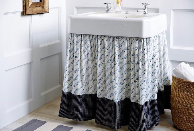 sink pedestal cover