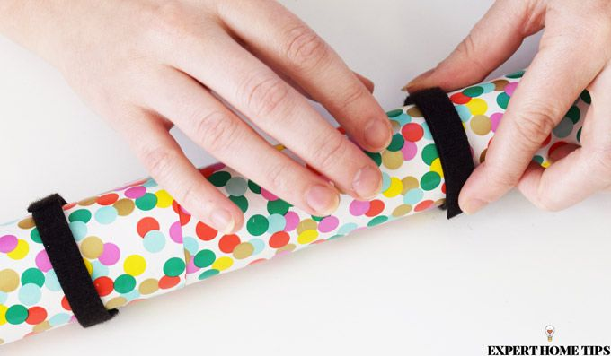 uses for velcro wrapping paper