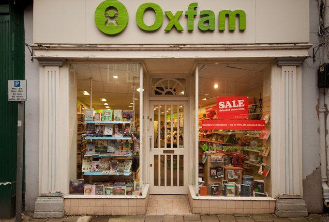 charity shop oxfam