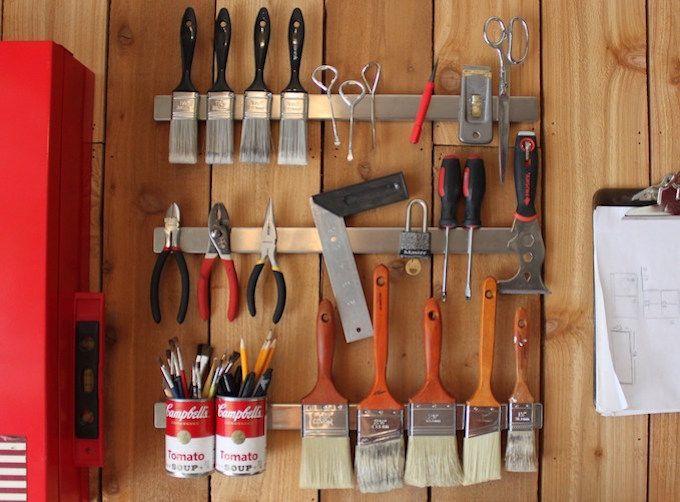 DIY tool storage