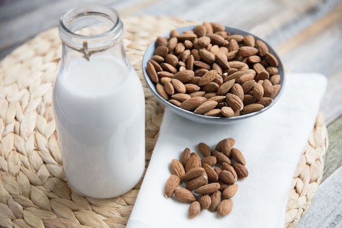 almond milk dairy free alternatives