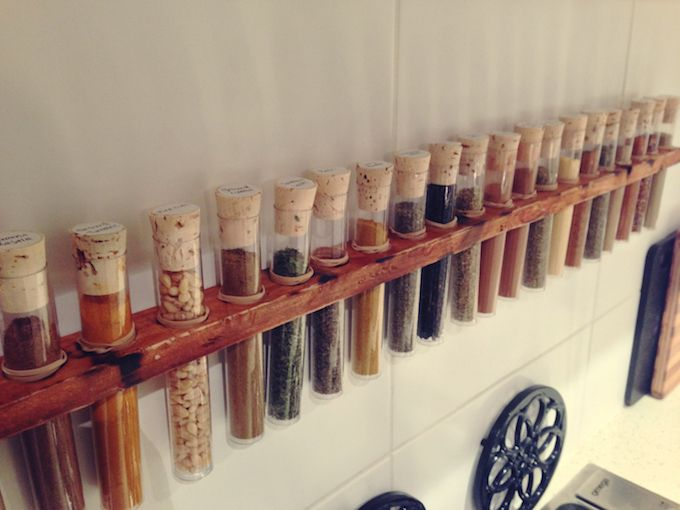 test tube spice jars diy