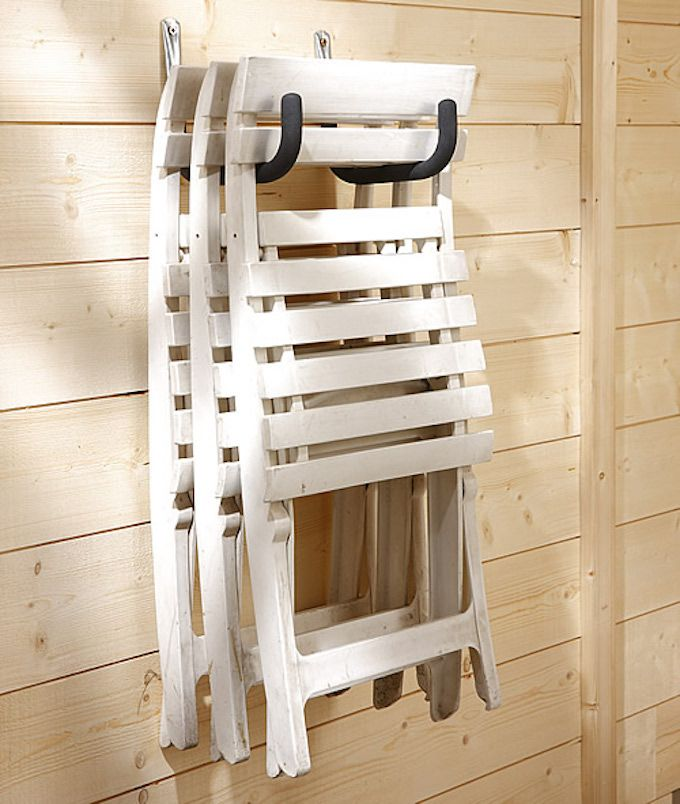 garden furniture storage hooks