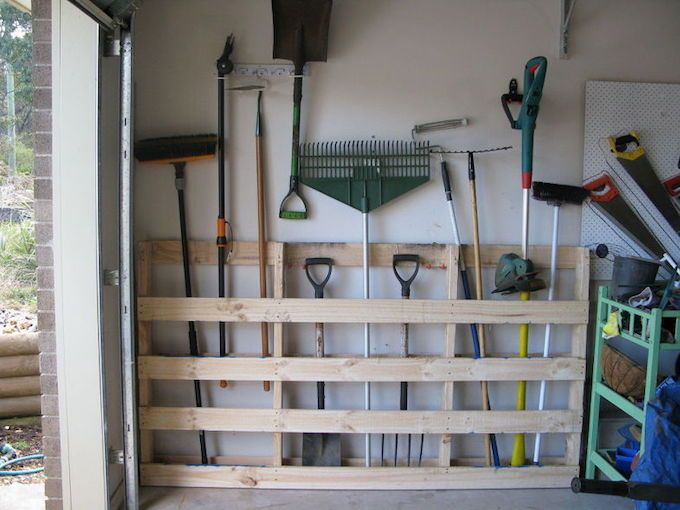 garage organisation