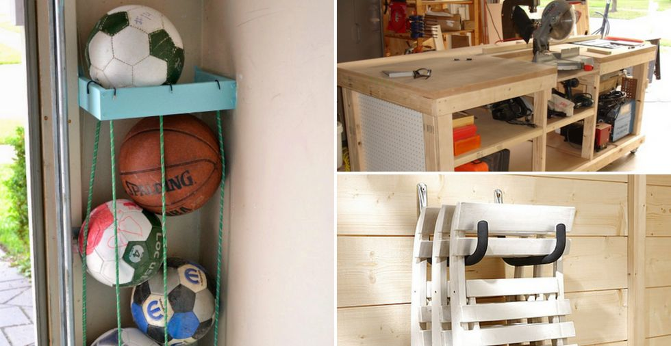 15 Garage Organisation Ideas To Help You Clear Clutter For GOOD