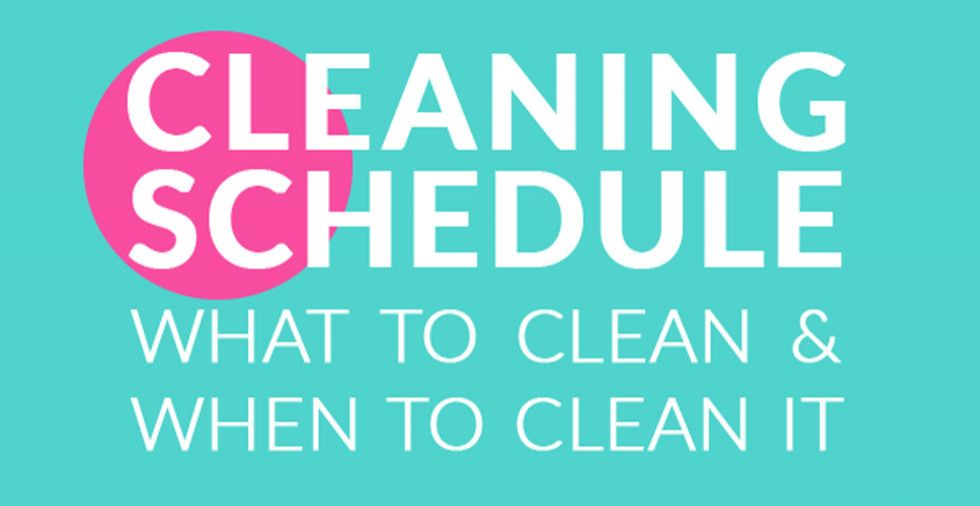 House Cleaning Schedule: What To Clean & When To Clean It