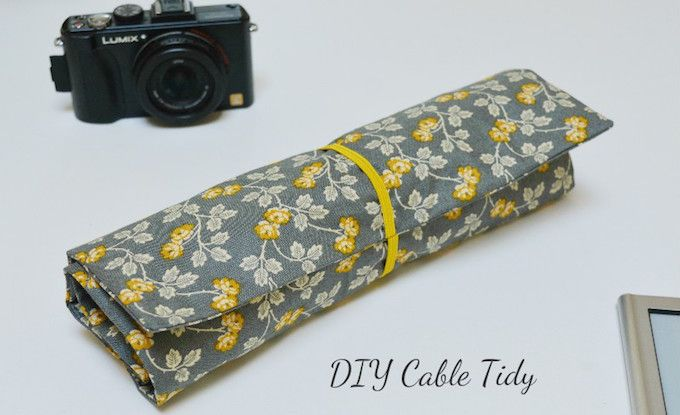 fabric cable tidy