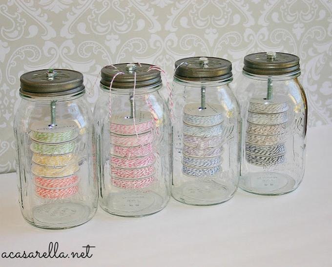 Twine in a jar!