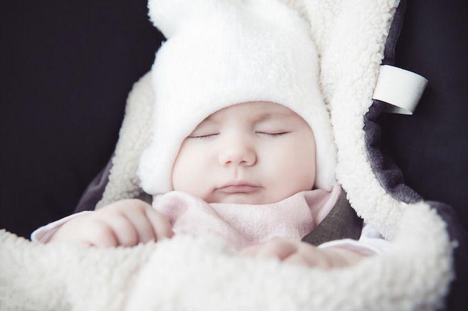 baby blanket hood warm
