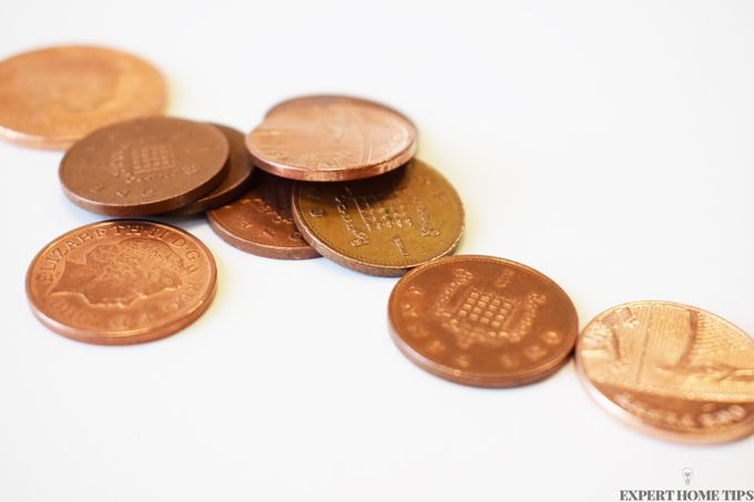 copper coins pennies