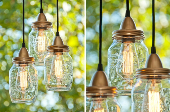 Hanging pendant lights add a homespun charm - Woon Blog