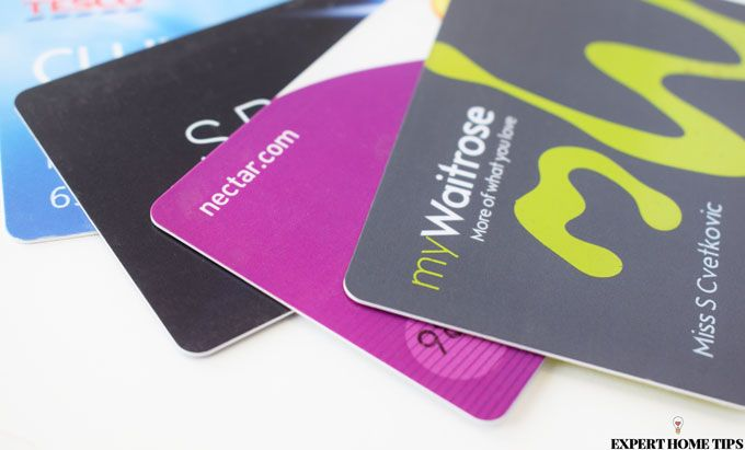 supermarket rewards cards