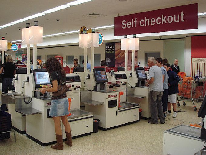 self checkout sainsburys