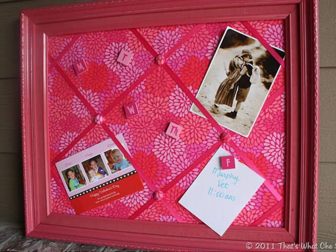 DIY Notice Board: 10 Terrific Ideas That Are Cheap BUT ...