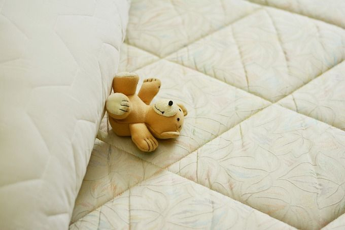 mattress teddy bear