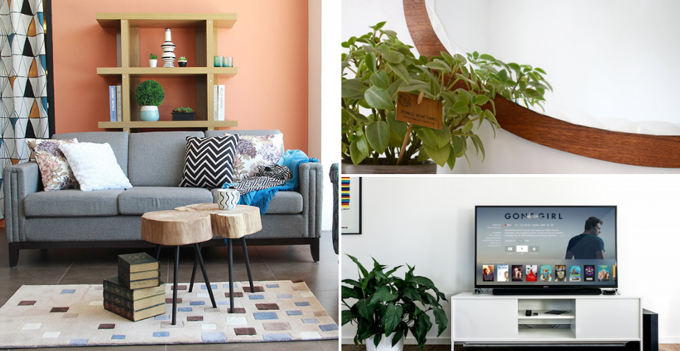 23 clever tips to make your tiny living room look bigger - How to make a small space look bigger ...