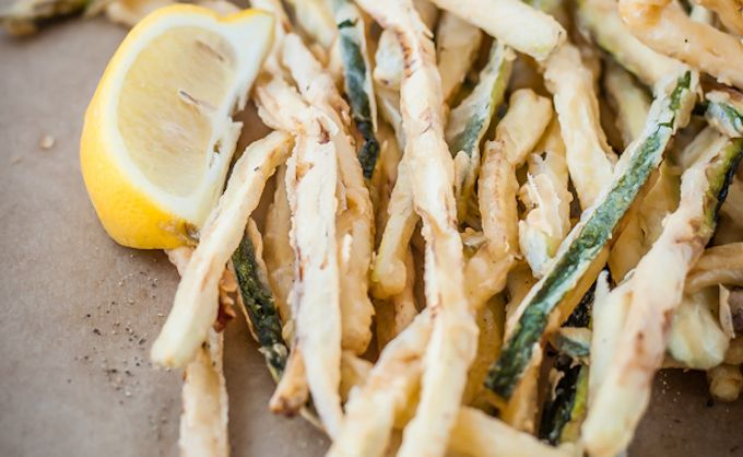 courgette fritti recipe