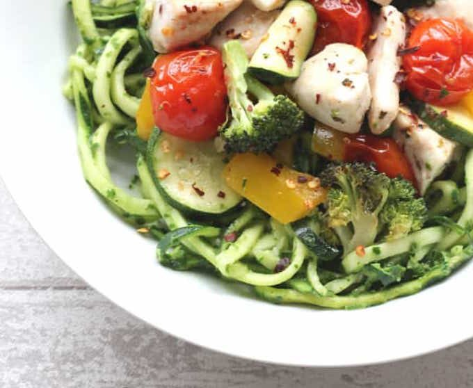 courgetti spaghetti recipe healthy