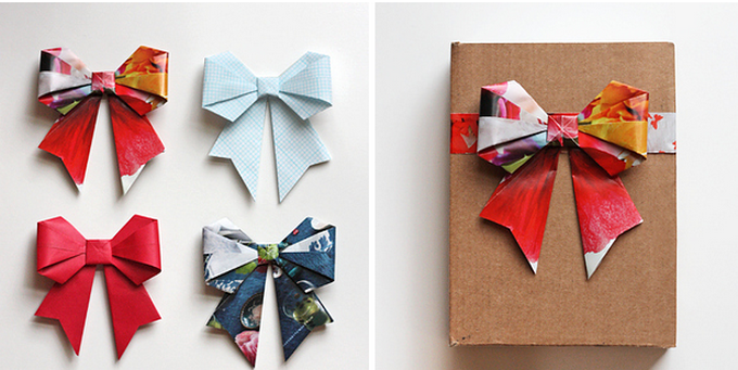 Make your own bow too - How About Orange