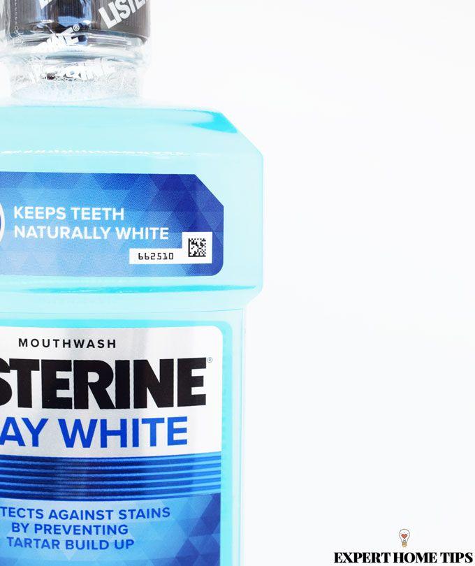 listerine whitening