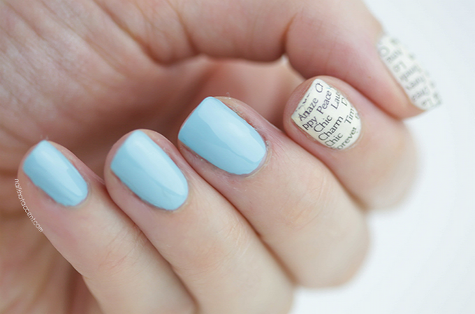 Nail art that won't cost you a penny! Nail That Accent
