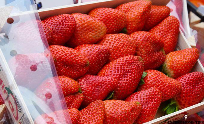 strawberries fresh