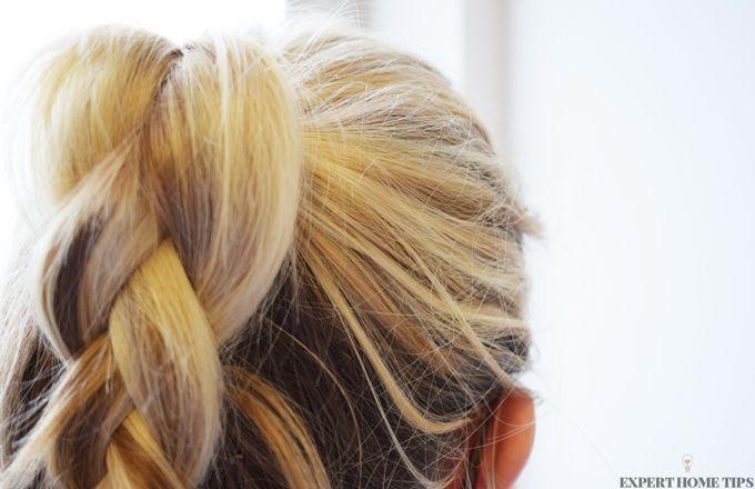 hair in plait