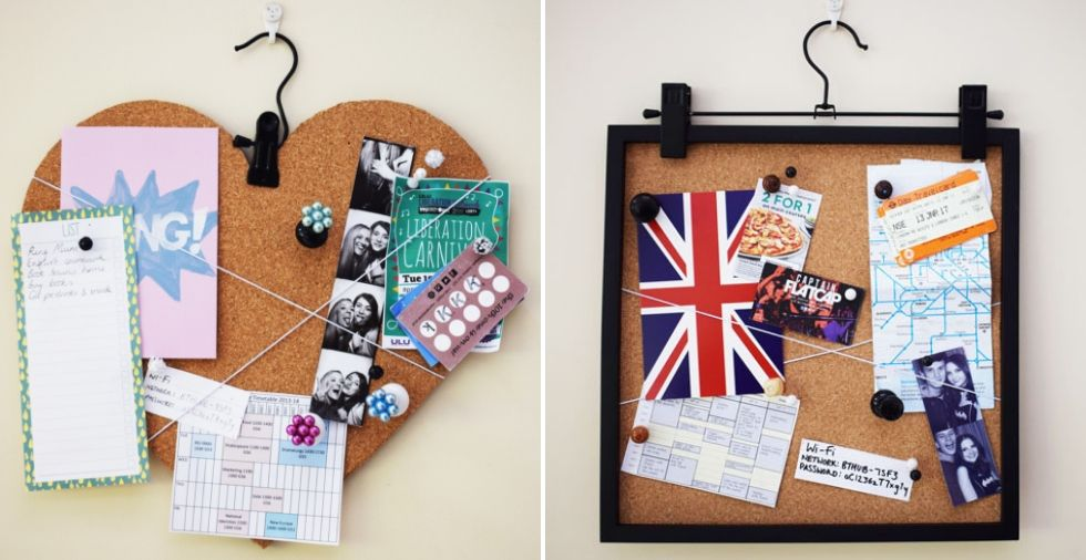 DIY Cork Board: 2 GORGEOUS Designs You Can Make At Home