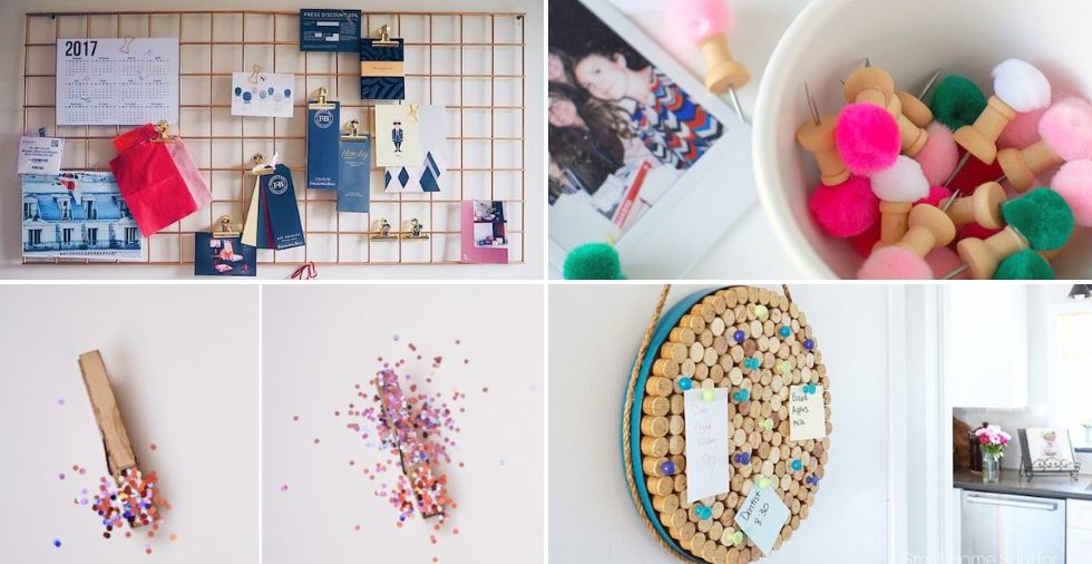 DIY Notice Board: 10 Terrific Ideas That Are Cheap BUT Effective