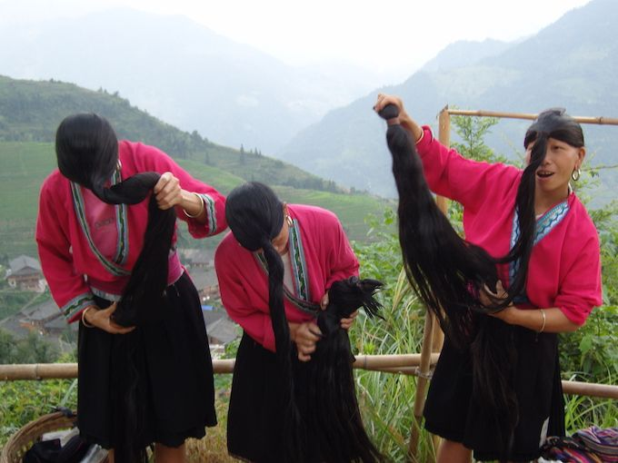 yao women longest hair in the world