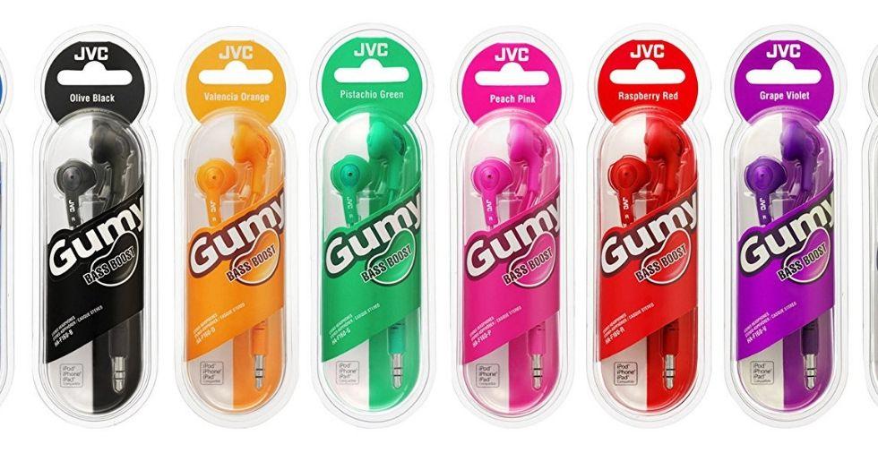 Free Giveaway: JVC Gummy In-Ear Headphones