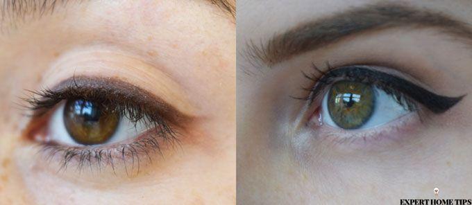strong v sharp eyeliner