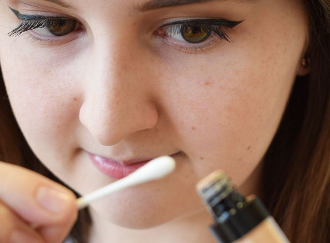 concealer correct mistakes