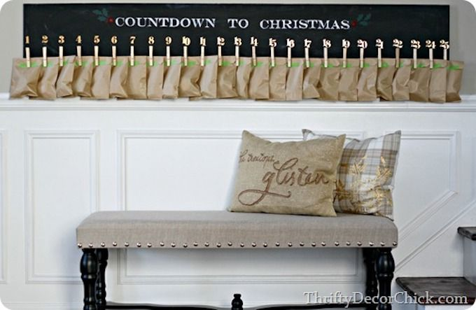 peg board advent