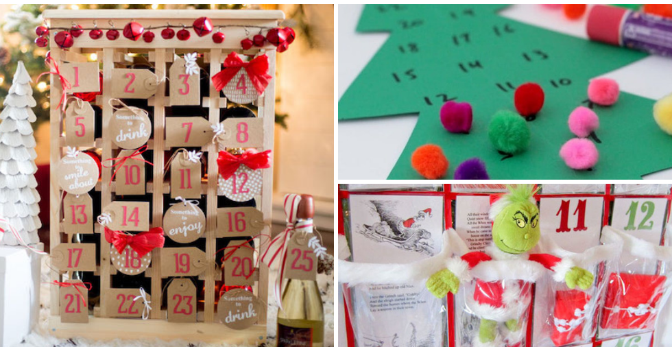 Diy Advent Calendar 22 Ideas That Are So Much Better Than