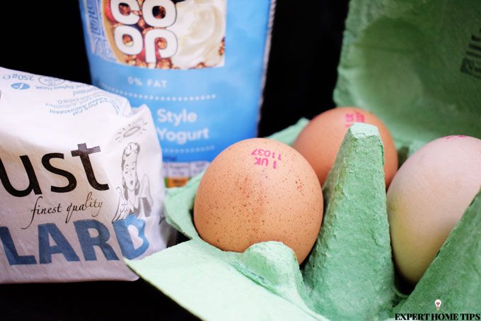 eggs yoghurt lard