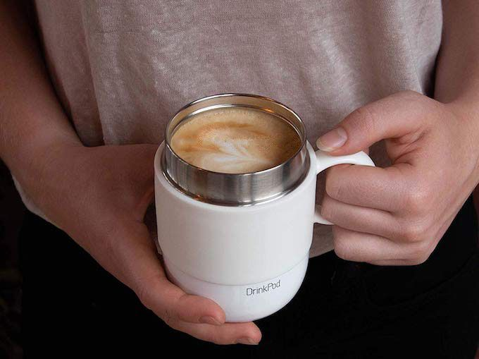 travel thermal coffee mug