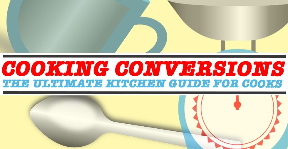 Cooking Conversions (Temperature, Mass & Volume + FREE Printable)
