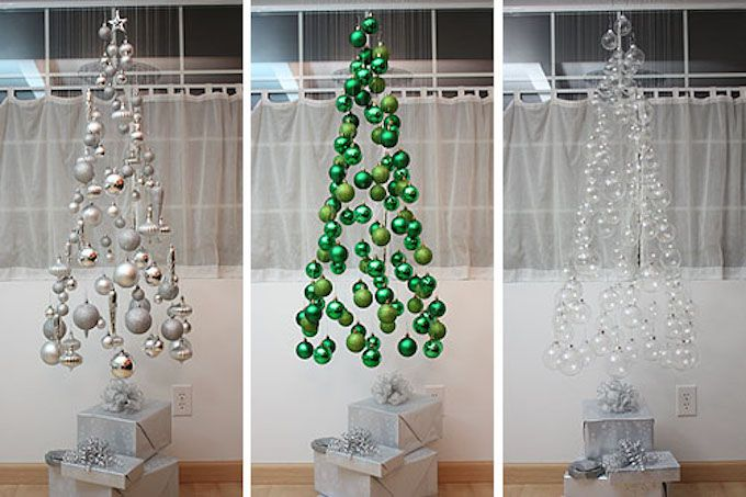 bauble mobile christmas tree