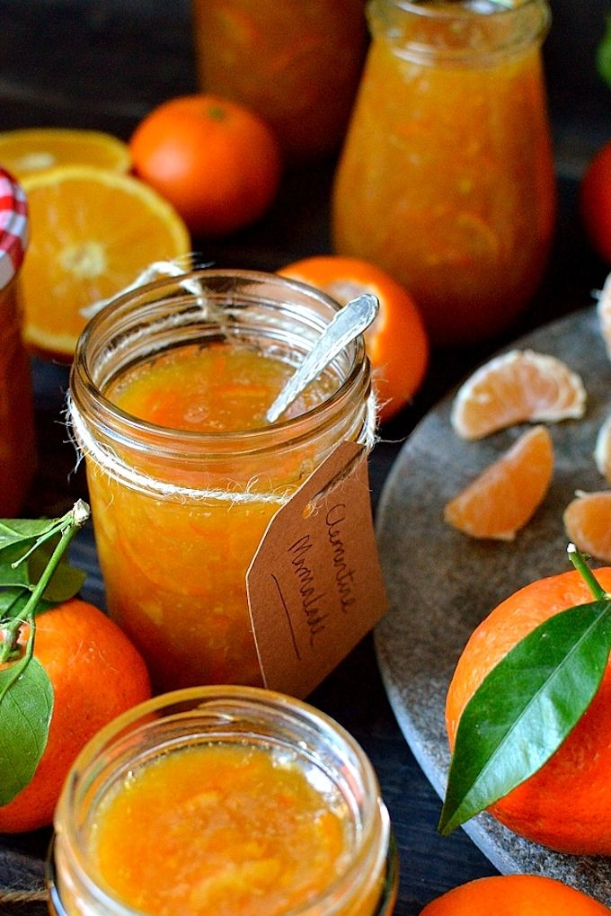 homemade christmas marmalade