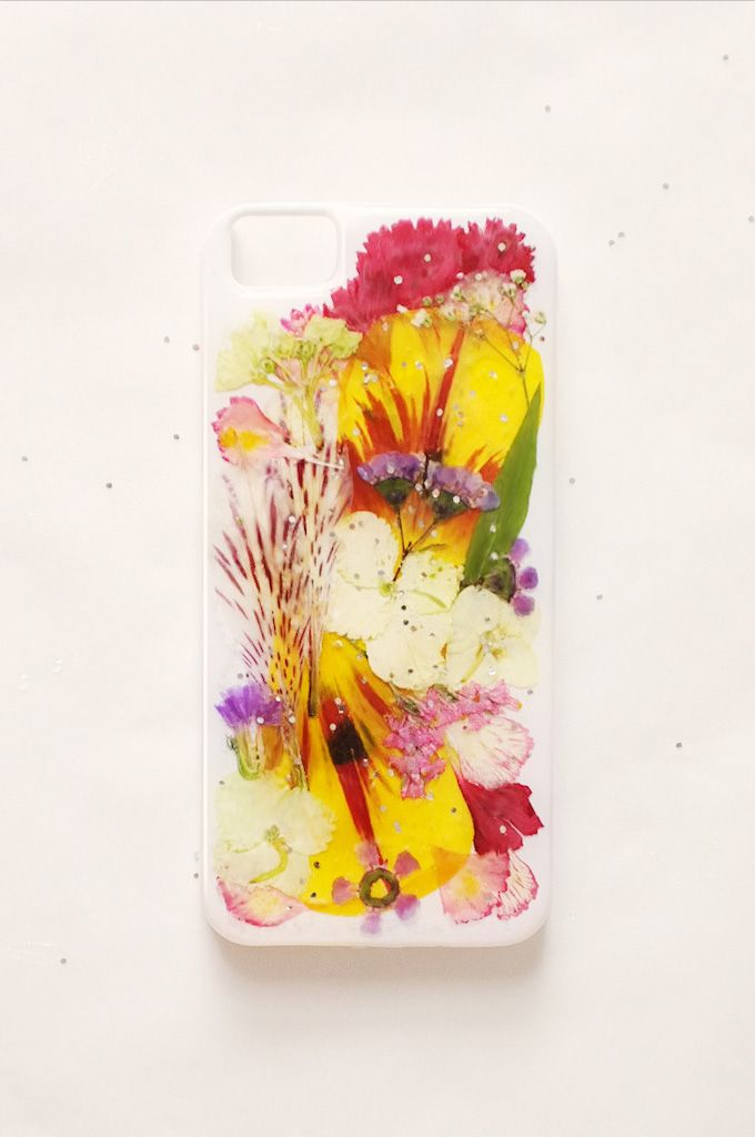 dry flower iphone case