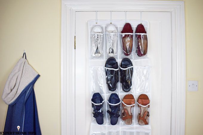 over the door shoe organiser