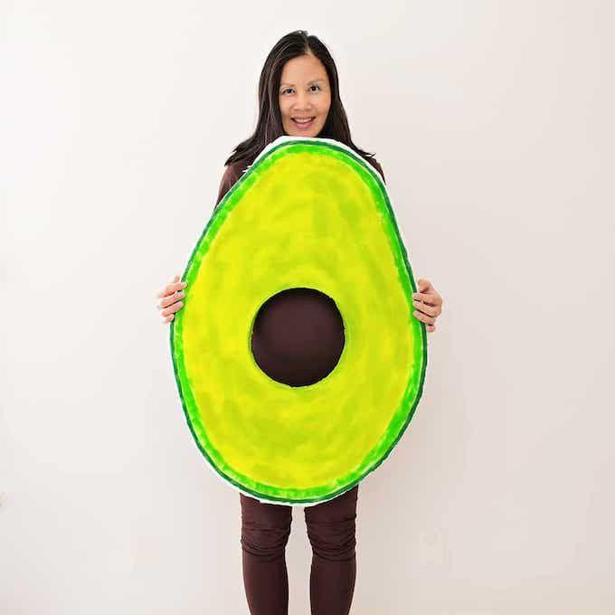 avocado costume halloween