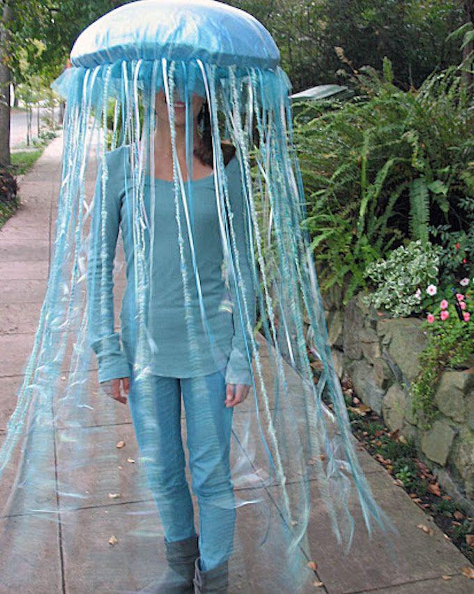 jellyfish costume DIY]