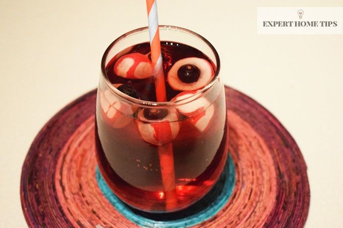 eyeball halloween punch