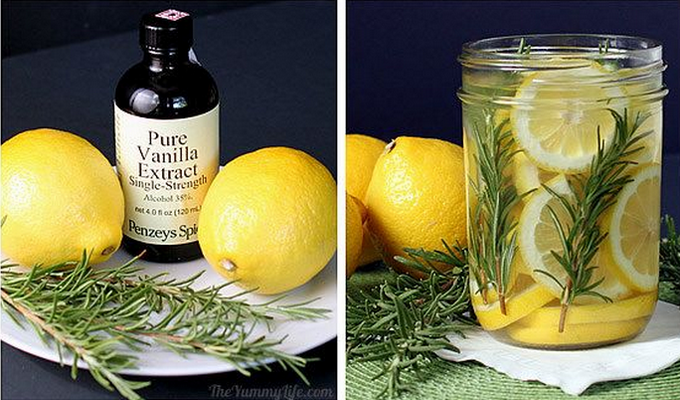 Make this lovely scented water.