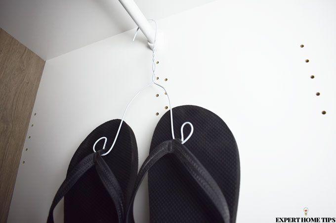 sandal storage